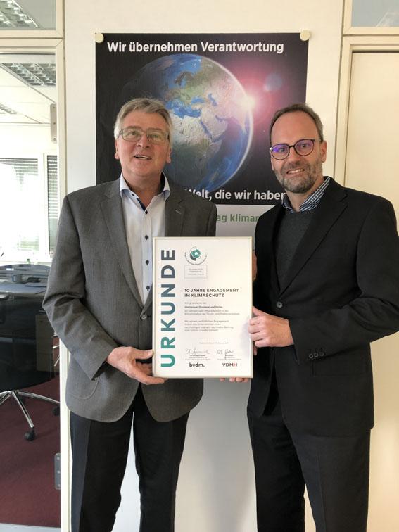 CO2 Mitglied der bvdm-Klimainitiative